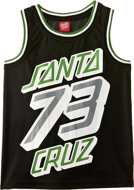 Santa Cruz - Camiseta para niño, Talla 6-8 años, Color Negro ...