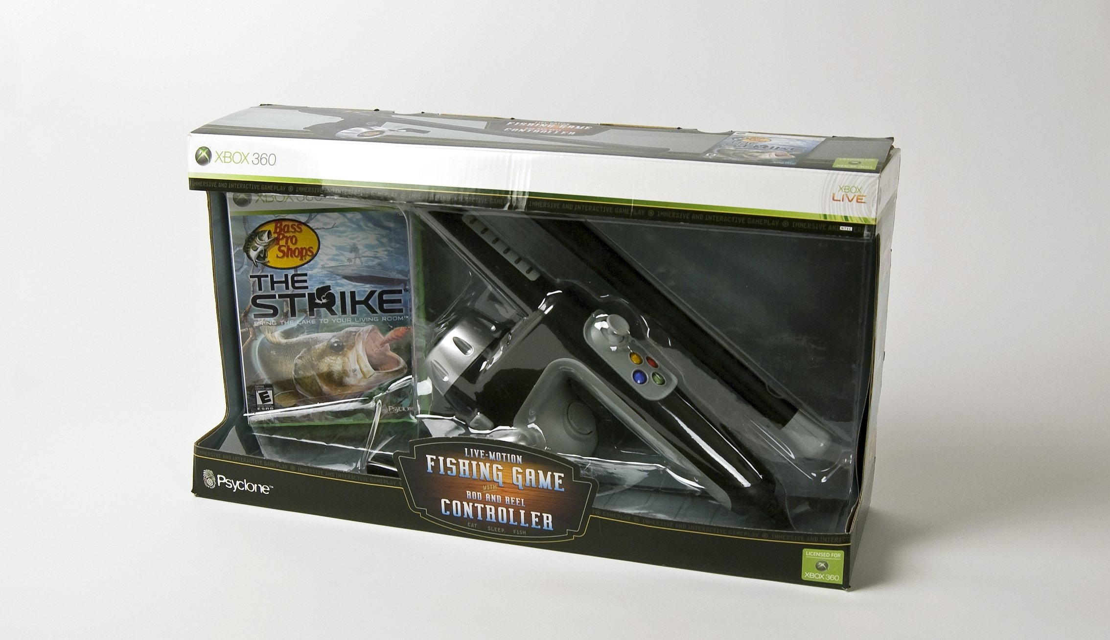 Bass Pro Shops: The Strike Bundle with Fishing Rod -Xbox 360 by Psyclone Games (Image #6)