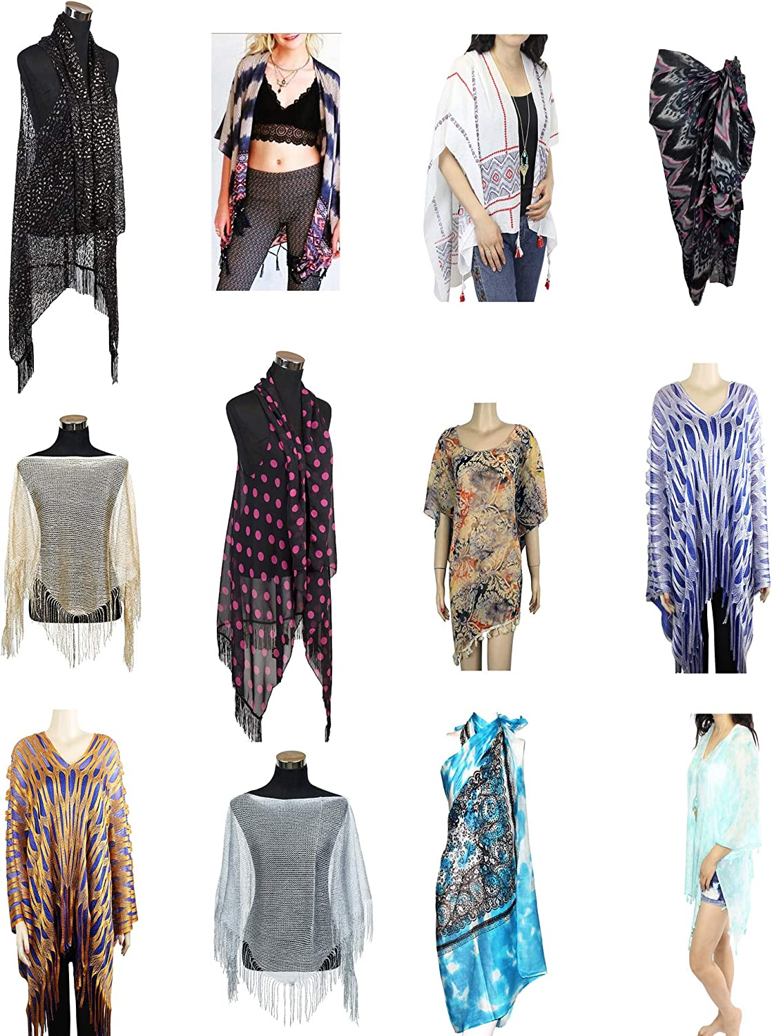 US SELLER-wholesale lot 12 fashion Casual clothing top tunic blouse