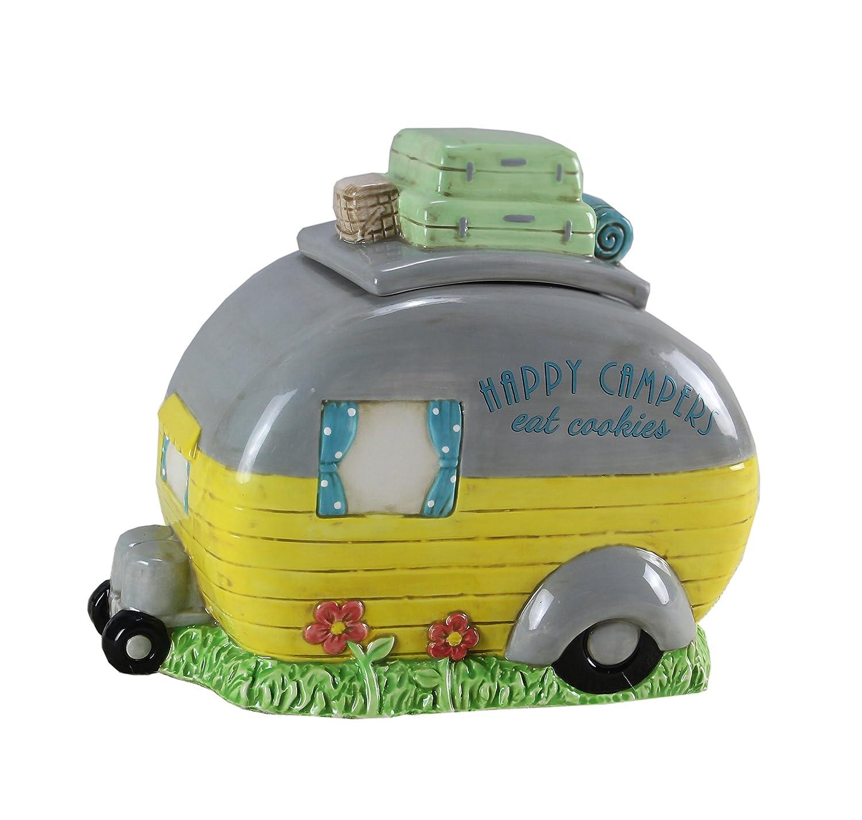 Ceramic Camper Cookie Jar,