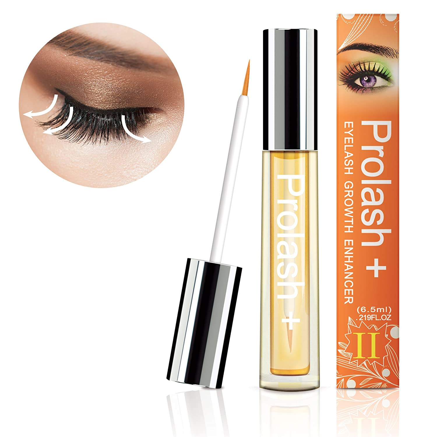 Essy Beauty Professional Eyelash Growth Serum for longer and healthier eyelashes eyebrow serum(6.5 ML) (6.5 ml) AsaVea