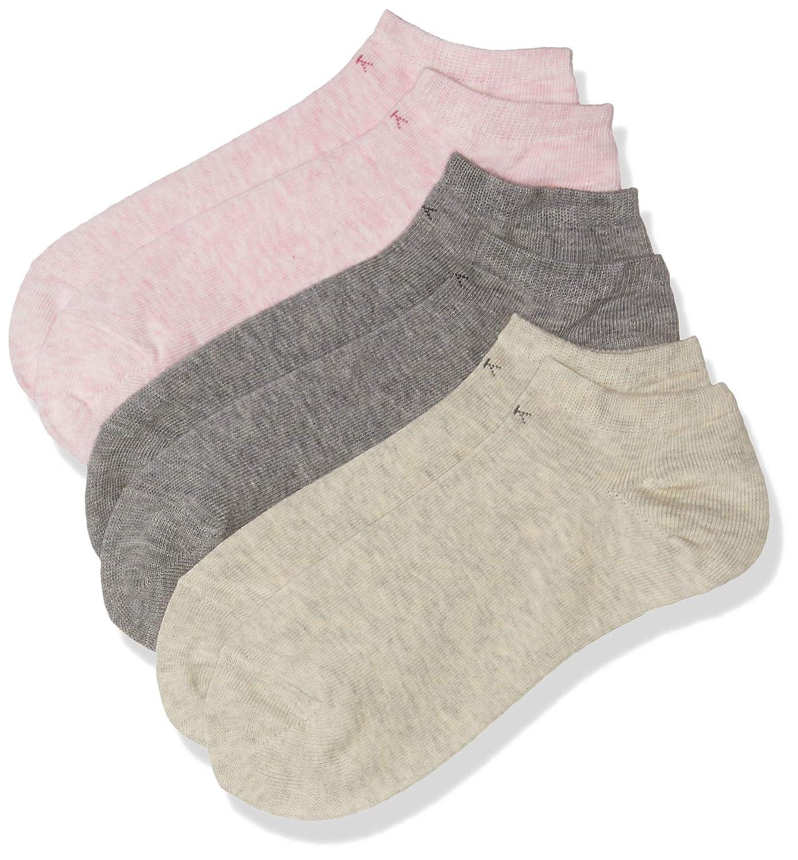 Calvin Klein - Calcetines de deporte para mujer, pack de 3, multicolor, talla eu 37/41