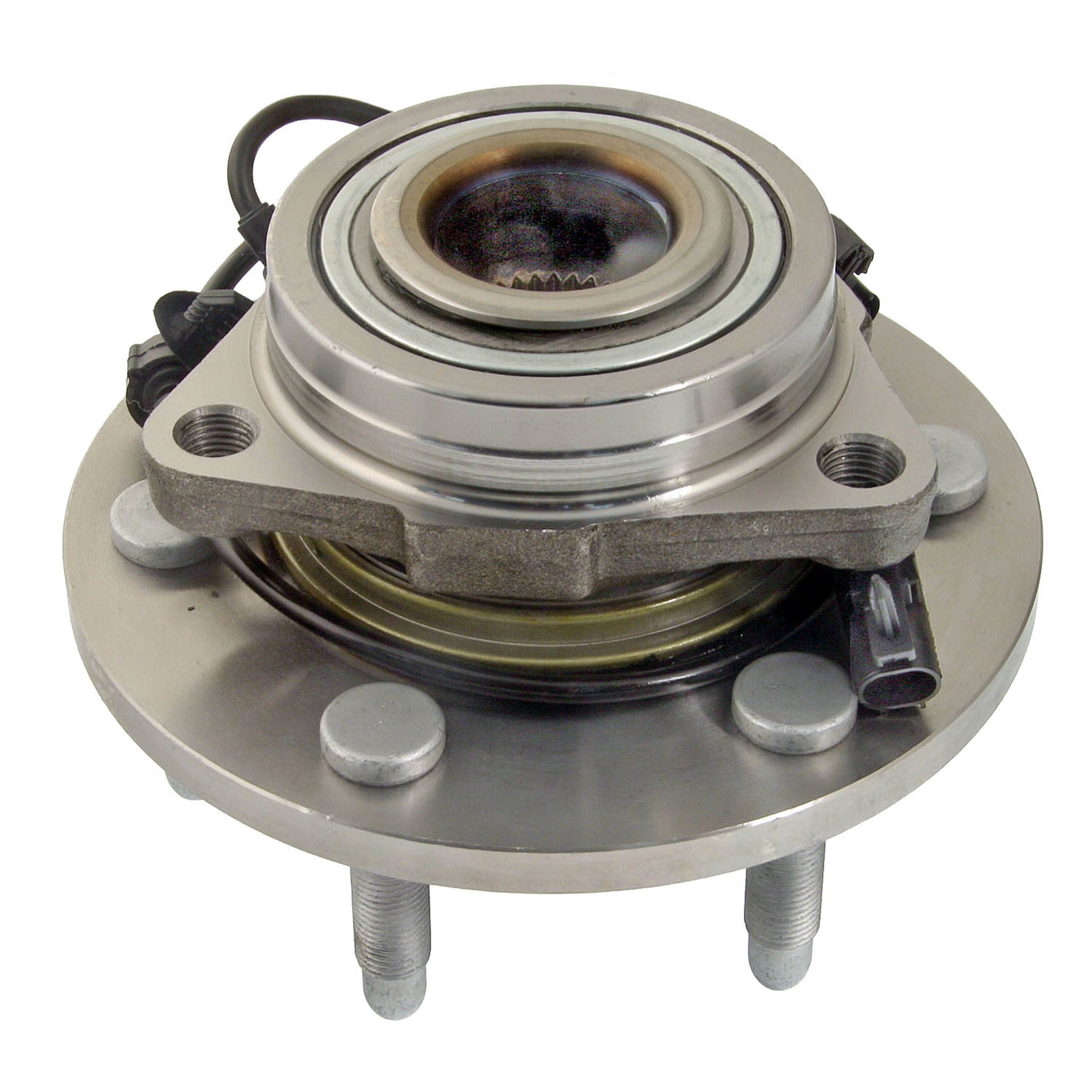 ACDelco 515096 Advantage Wheel Hub and Bearing Assembly with Wheel Speed Sensor and Wheel Studs by ACDelco