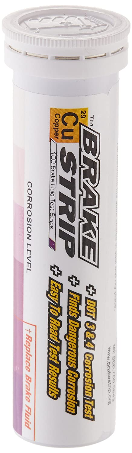 Phoenix Systems (PHOFASCAR-1-100) Brake Fluid Test Strips (100 / Tube) FBA_FASCAR-1-100 26953