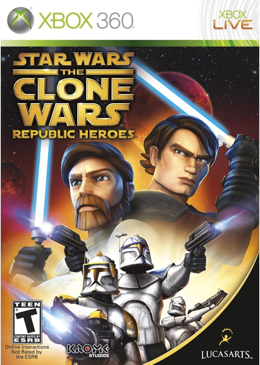Star Wars the Clone Wars: Republic Heroes (XBOX 360) [importación ...