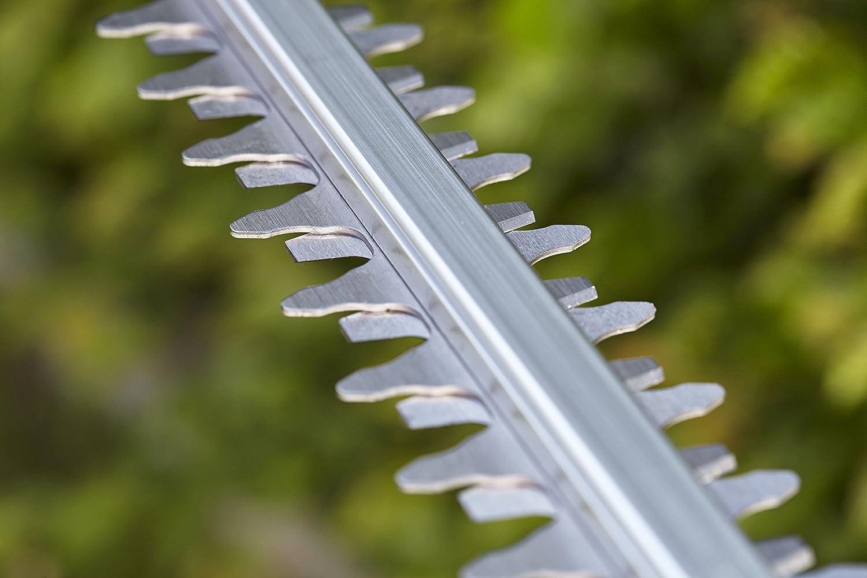 Lieferung ohne Akku und Ladeger/ät mit Pr/äzisionsmesser 60 cm Messerl/änge 9838-55 GARDENA Akku-Heckenschere ComfortCut Li-18//60: Heckenschneider mit ergonomischem Griff und Anschlagschutz