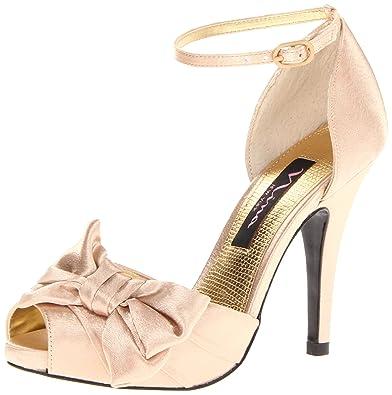 Nina Women's Electra-YS Dress Pump,Gold,6.5 ...