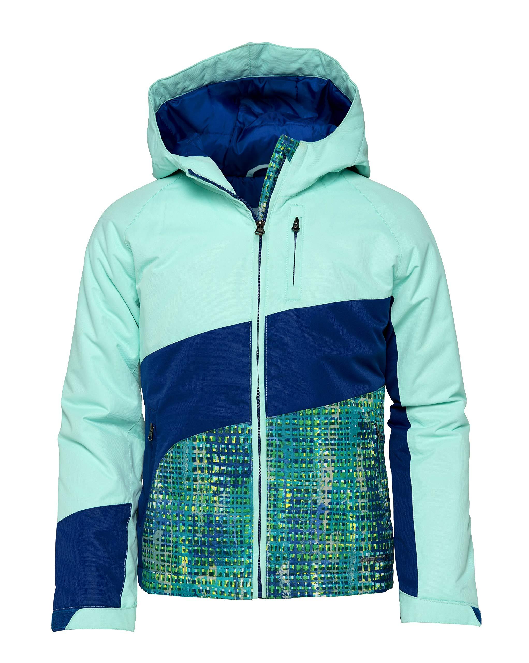 Arctix Girls Frost Insulated Winter Jacket, Island Azure, Medium by Arctix