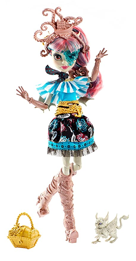 Monster High Shriekwrecked Nautical Ghouls Rochelle Goyle Doll