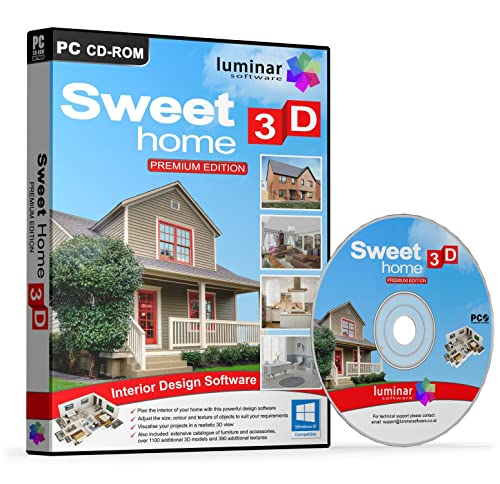 Sweet Home 3D   Premium Edition   Interior Design\Planning\Modelling  Software (PC