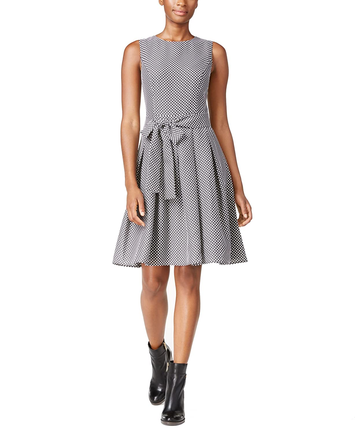 Viscose Bow Dress - Sales Up to -50% Tommy Hilfiger LDnWMUf