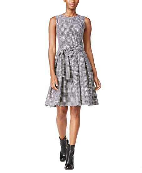 Sleeveless Patterned Dress - Sales Up to -50% Tommy Hilfiger Hn3YKO8