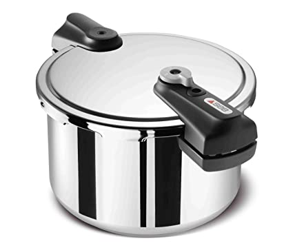 Nouvelle comment trouver volume grand SEB P3061412 Optima Classic Stainless Steel Pressure Cooker ...