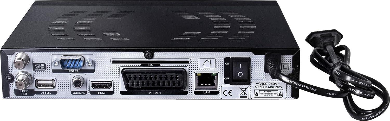 Qviart UNIC QVI01001 - Sintonizador de TV, color negro