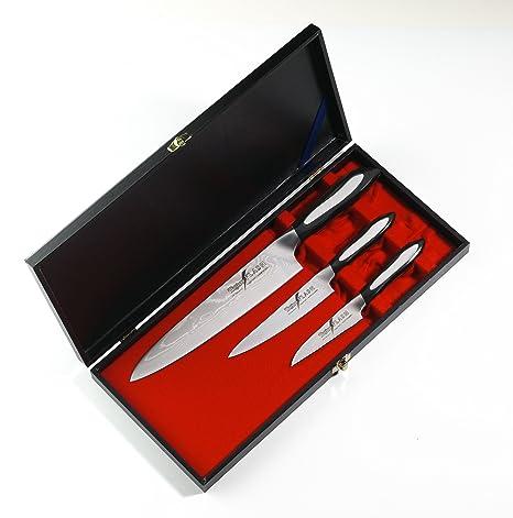 Compra Set Regalo cuchillos chef Tojiro en Amazon.es