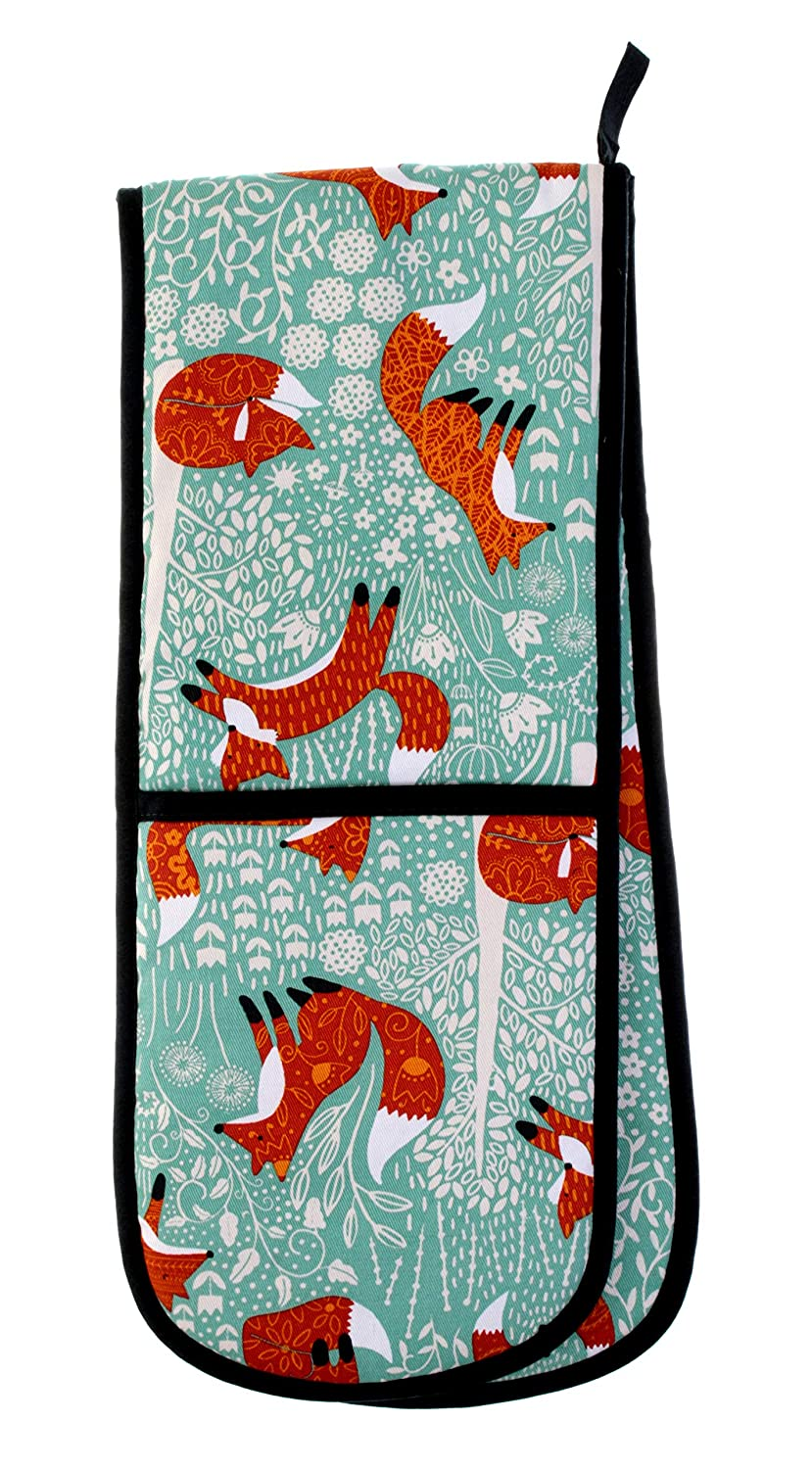 Ulster Weavers Foraging Fox Double Oven Glove 7FFX03