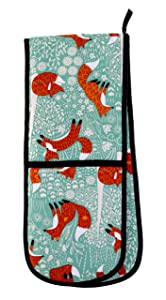 Ulster Weavers Foraging Fox Double Oven Glove