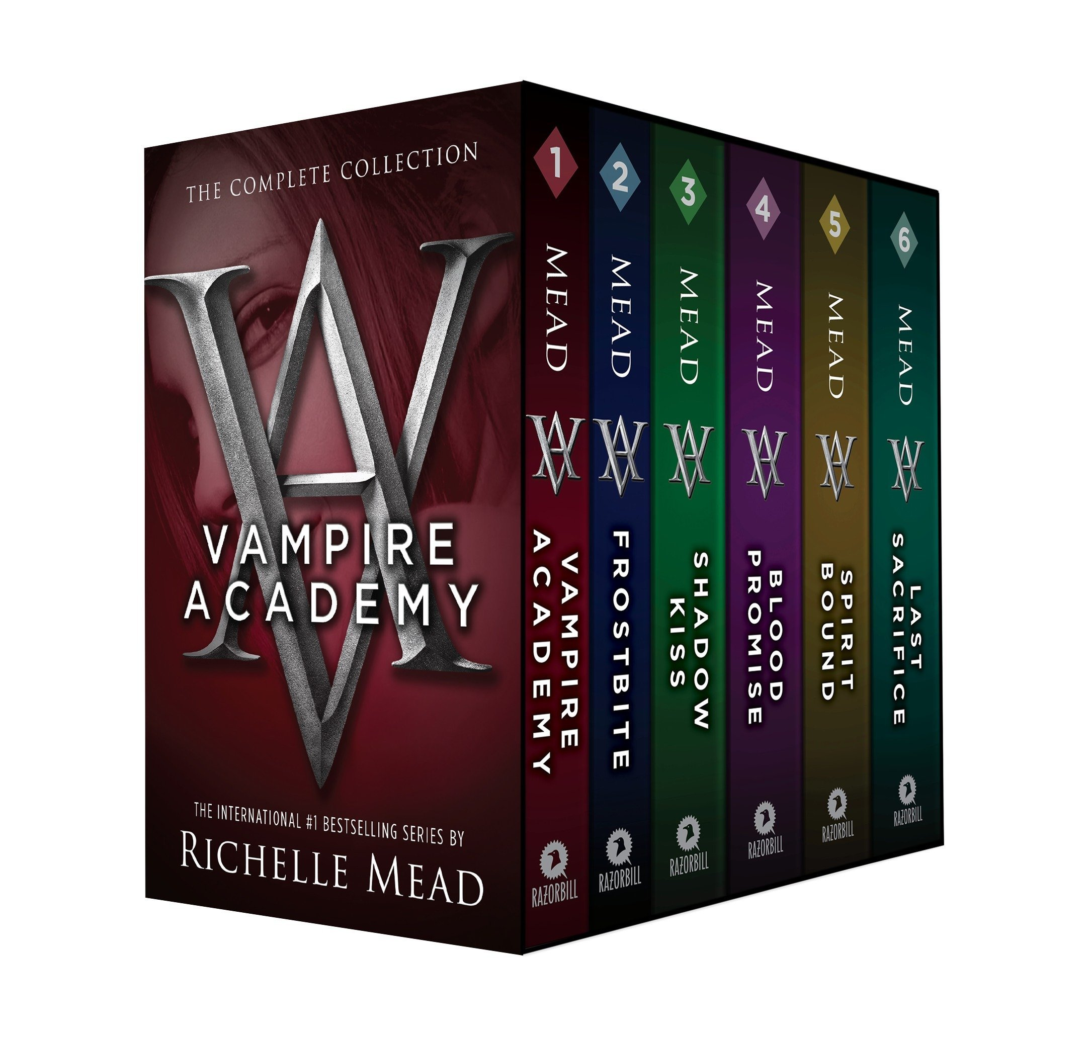 Amazon.com: Vampire Academy Box Set 1-6 (9781595147585): Mead, Richelle:  Books