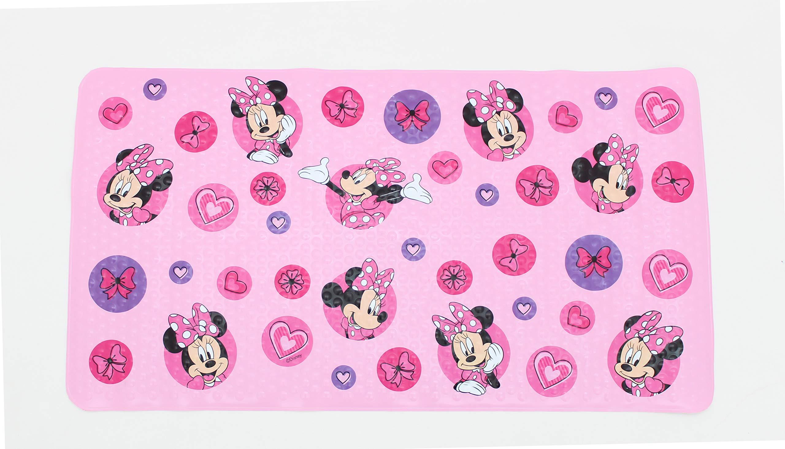 Disney Minnie Mouse Pink Bath Tub Mat - Kids Bath Mat by Ginsey (Image #1)