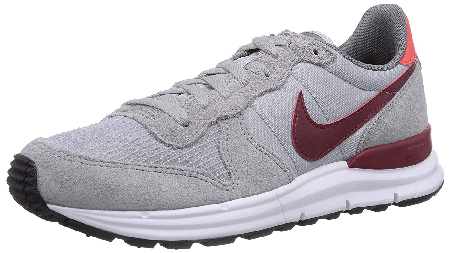 9a7b6e1cc69a ... coupon for nike herren lunar internationalist low top grau wolf grey  team daring red 45.5 eu