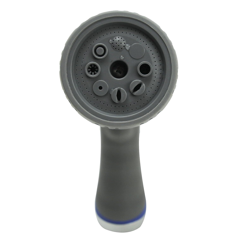amazon com viking garden hose thumb control spray nozzle heavy