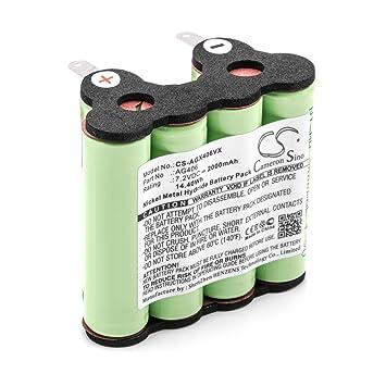 vhbw NiMH batería 2000mAh (7.2V) para aspiradora robot autónomo de limpieza AEG/Electrolux AG406, ZB4106WD: Amazon.es: Hogar