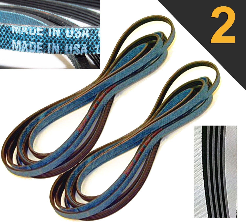 341241 AP2946843 PS346995 8066065 3392665 OEM Quality 92'' Dryer Belt (2 PACK)