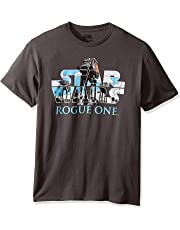 Zooge Star Wars Rogue One at-Act Logo Men's ComfortSoft Short Funny T-Shirt