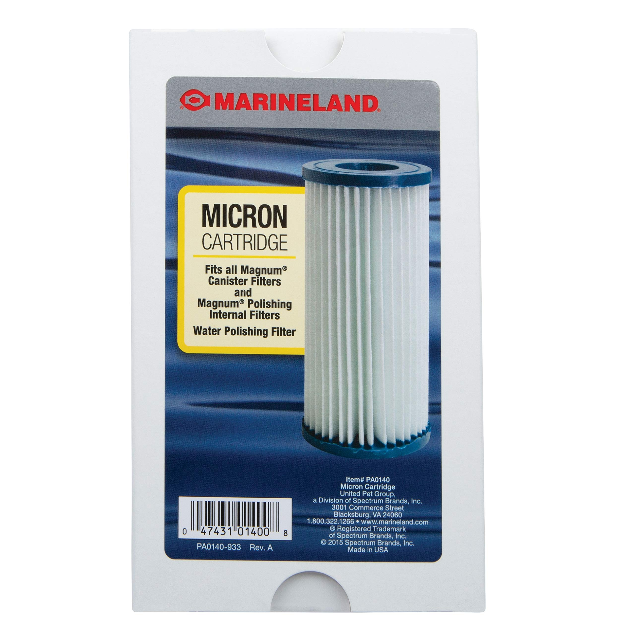 Marineland PA0140 Micron Cartridge, Fits Magnum Canister Filters , 1-Pack