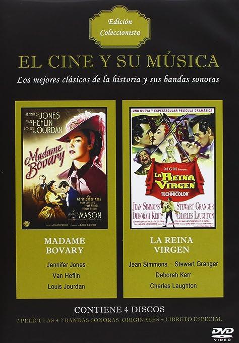 Pack El cine y su música: Madame Bovary + La reina virgen + Band DVD: Amazon.es: Jennifer Jones, Jean Simmons, Vincente Minnelli, George, Jennifer Jones, Jean Simmons: Cine y Series TV