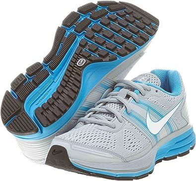 Nike - Zapatillas de Running de Material Sintético para Mujer Gris: Amazon.es: Zapatos y complementos