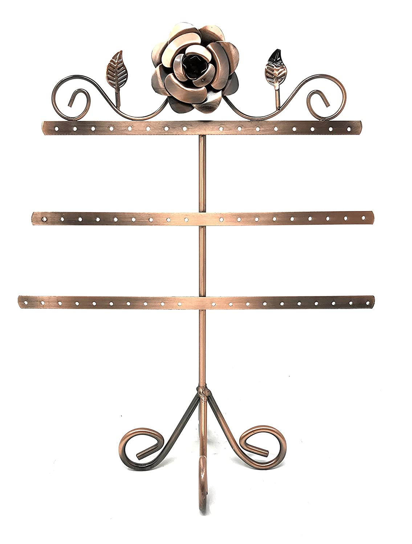 13 Copper Color Jewelry Earring Holder / Earring Tree / Earring Oraganizer / Earring Stand / Earring Display Zoohu Corp