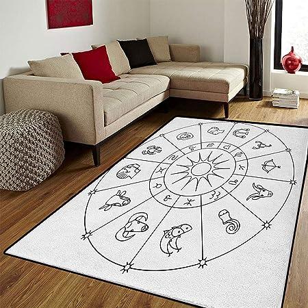 Astrología, Alfombra y Moderna Tabla Original del Zodiaco