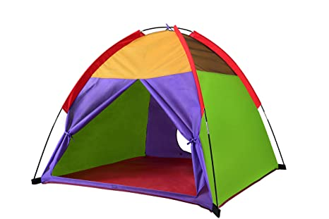 Kids Tents Rainbow Playhouse Outdoor C&ing Indoor Playground Children Game Toy Gift for Boys and Girls  sc 1 st  Amazon.com & Amazon.com: Kids Tents Rainbow Playhouse Outdoor Camping Indoor ...