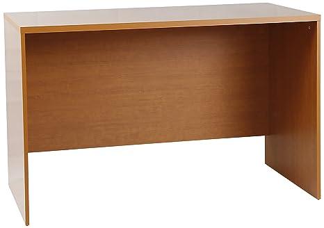 Tumueblekit Mesa Escritorio, Melamina, Cerezo, 120x75x60 cm