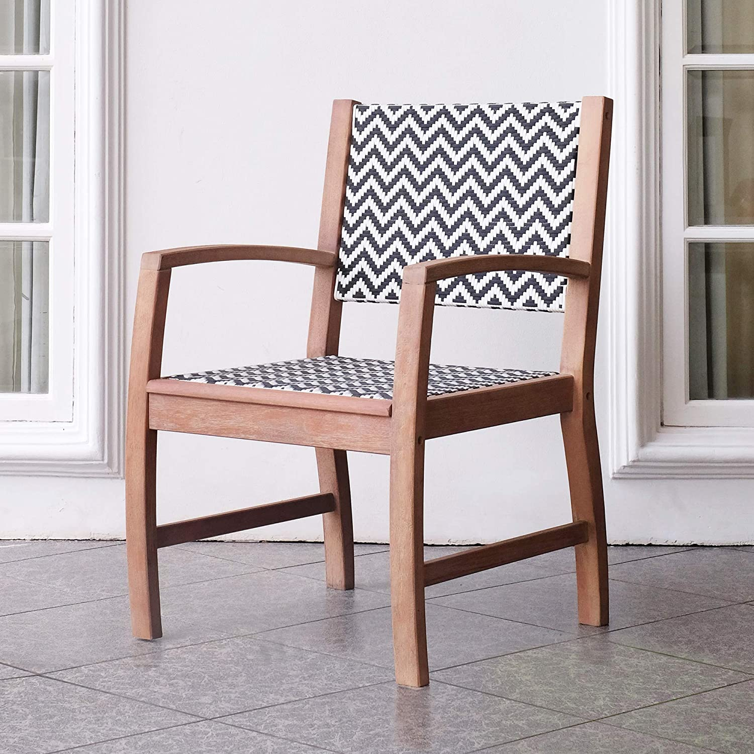 Cambridge-Casual 121155 Willow, Dining Chair, Weathered