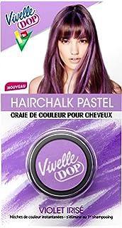 vivelle dop hairchalk pastel craie de couleur pour cheveux coloration phmre violet iris 3 - Coloration Cheveux Craie
