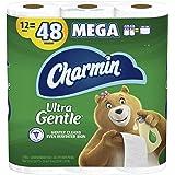 Charmin Ulta Gentle Toilet Paper, 12 Mega Rolls = 48 Regular Rolls