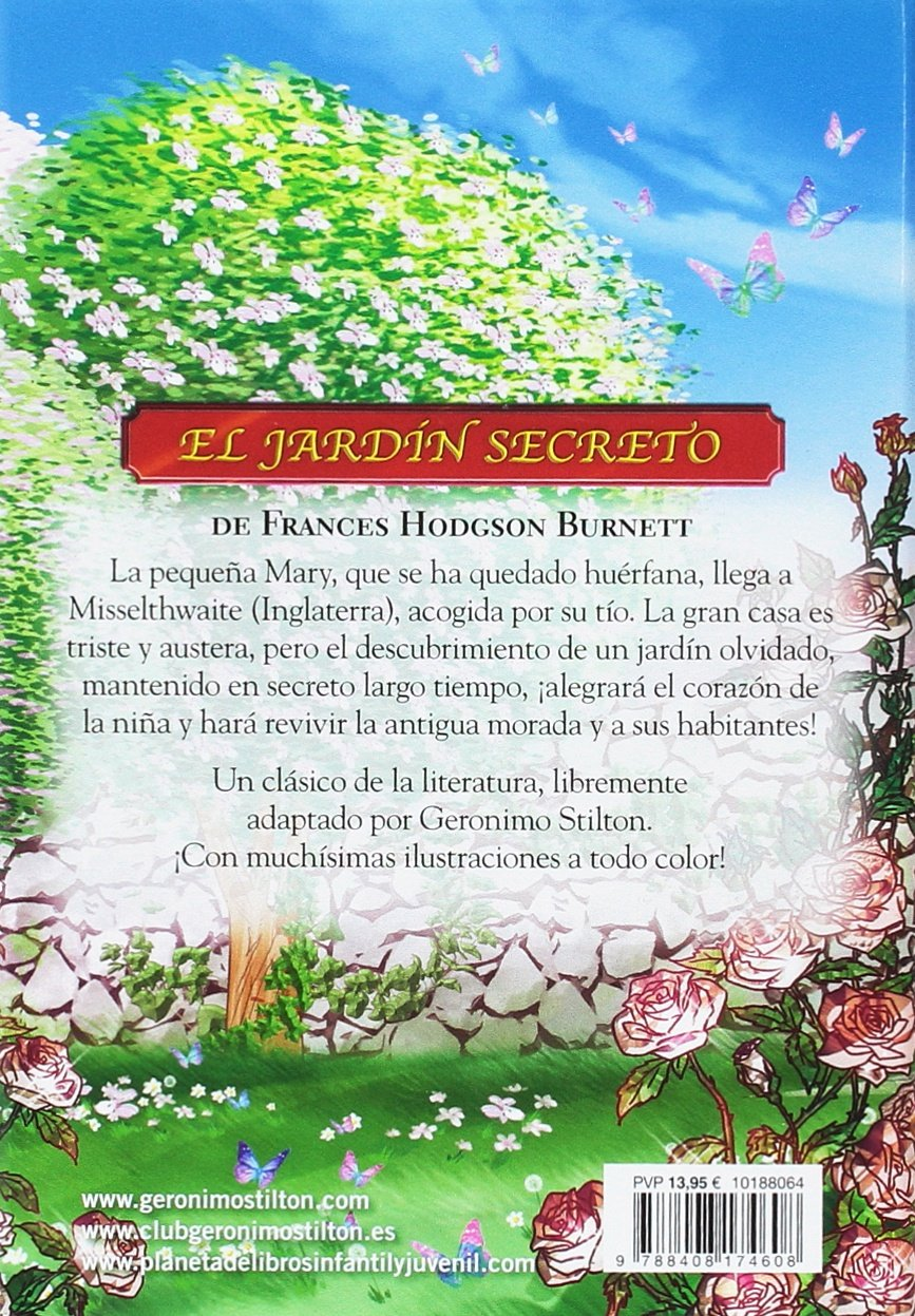 El jardín secreto: Grandes historias Grandes historias Stilton: Amazon.es: Stilton, Geronimo, García, Miguel: Libros