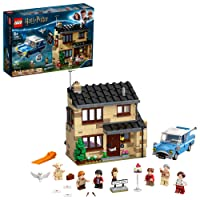 LEGO Harry Potter 4 Privet Drive 75968; Fun Children's Building Toy for Kids Who Love Harry Potter Movies, Collectible Playsets, Role-Playing Games and Dollhouse Sets, New 2020 (797 Pieces)