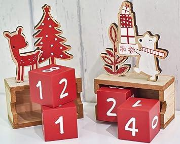 weihnachtsdeko holz rot beliebter weihnachtsblog. Black Bedroom Furniture Sets. Home Design Ideas