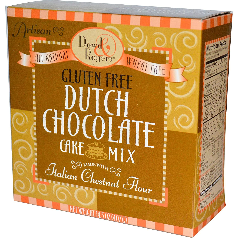 Amazon.com: Dowd & Rogers Gluten Free Cake Mix, Dutch Chocolate ...
