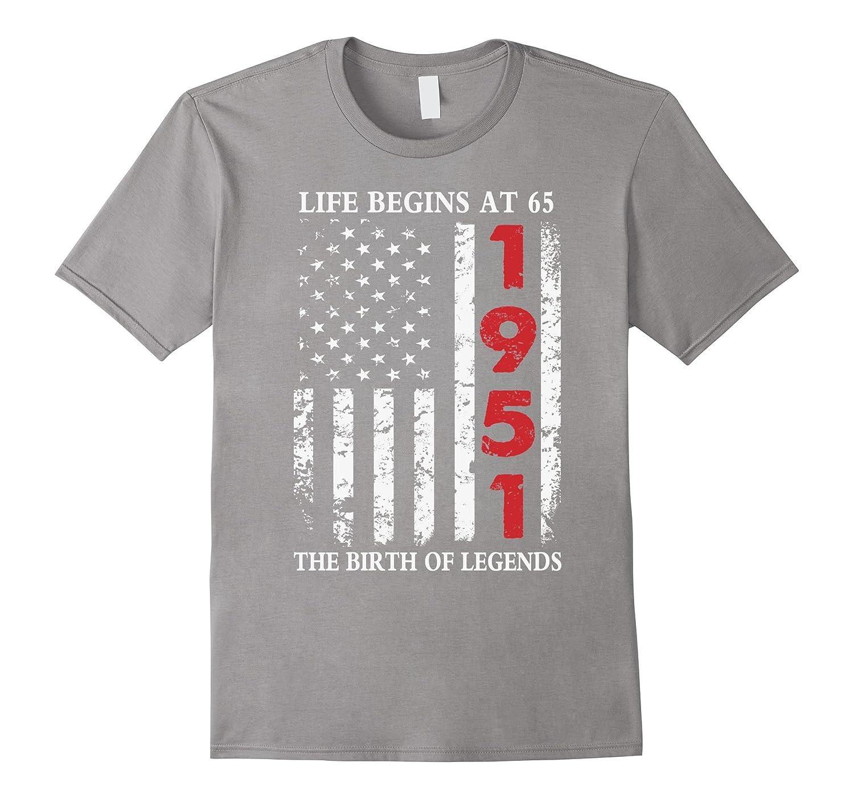 1951 The Birth Of Legends American Flag T-Shirt-Art