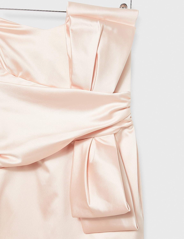 Marchio TRUTH /& FABLE Vestito Mini Senza Spalline Satinato Donna
