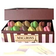 Leilalove Macarons 12 French Assortments flavor collection - A gift to remember- Gift box may vary in style