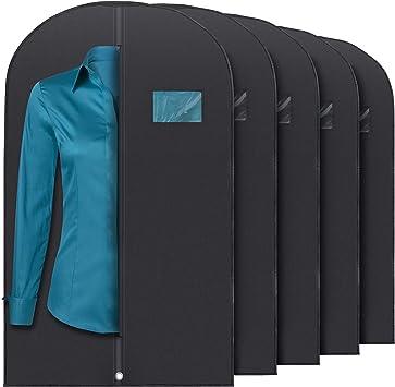 Amazon.com: Plixio Bolsas de ropa para almacenamiento de ...