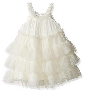 5326712c6fe7 Amazon.com  Mud Pie Baby Girls  Easter Holiday Sleeveless Casual Dress   Clothing