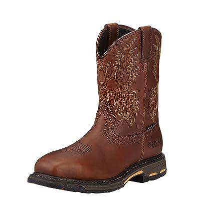 761995f83a8 ARIAT Men's Workhog CSA Waterproof Composite Toe Work Boot