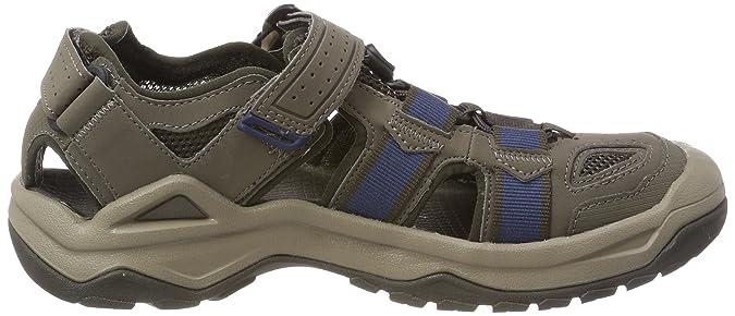 Teva M Omnium 2, Stivali da Escursionismo Uomo, Marrone (Bungee Cord), 39.5 EU