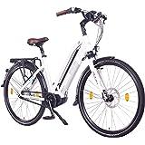 "NCM Milano MAX Bicicleta eléctrica Unisex, Bicicleta de Trekking, 250W Motor Central, Batería 36V 14Ah 504Wh, 28"""